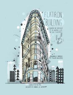 Flatiron Building by James Hancock