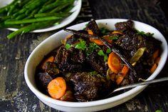 Slow Cooked Port & Vanilla Beef Cheeks Recipe  | Eat Drink Paleo