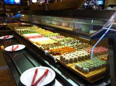 Sushi buffet @ Ichiban, Gaithersburg Md