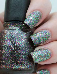 China Glaze Glitter All The Way (3 coats)