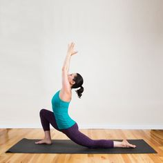 Pin for Later: The Only Yoga Sequence Runners Need to Do Low Crescent Lunge