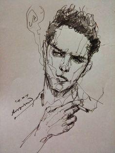 Always great model Smoking man.  http://facebook.com/aressgallery