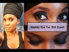 315-whoissugar Have Big Eyes? You Can Rock Smokey Eyes! - YouTube