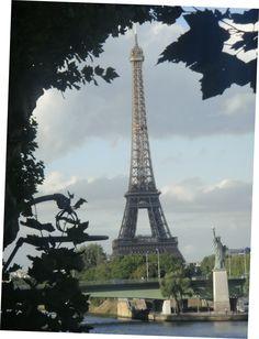 Tour de Eiffel et Statue de la Liberte