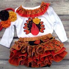 Thanksgiving Dresses for infants