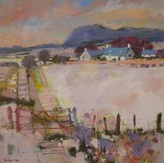 Carse Landscape by Charles Anderson DA RSW
