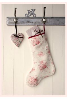 Sarah Hardaker Christmas Stocking  This beautiful handmade Christmas stocking by textile designer Sarah Hardaker will add a touch of vintage charm to your mantelpiece this Christmas.