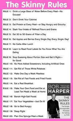 THE SKINNY RULES by Bob Harper - athleticworx.com
