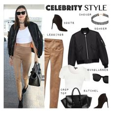 """""""Celeb Style: Miranda Kerr"""" by junglover ❤ liked on Polyvore featuring Yves Saint Laurent, Topshop, STELLA McCARTNEY, women's clothing, women, female, woman, misses and juniors"""
