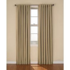Same curtain, in sage.