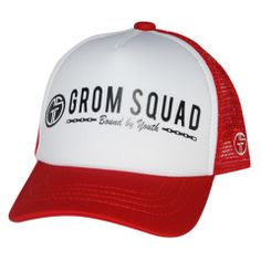b7dc9456908 GROMSQUAD USA - 2 0 - BOUND BY YOUTH. Trucker HatsBaby ...