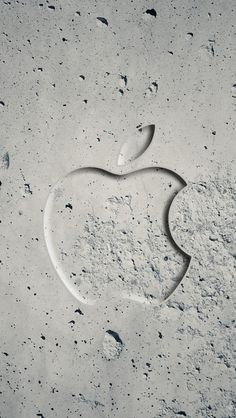 Apple Concrete Wallpaper