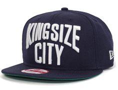 King Size City Snapback Cap by KING SIZE x NEW ERA