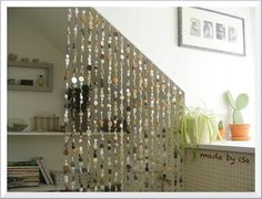 #buttons as a room divider.