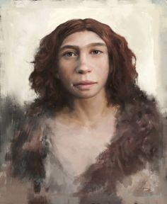 These Neanderthal character studies by Tom Björklund look awesome!