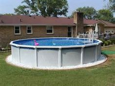Above Ground Pool Ideas Backyard backyard swimming pools above ground Landscaping Around Above Ground Pools Landscape Around Above Ground