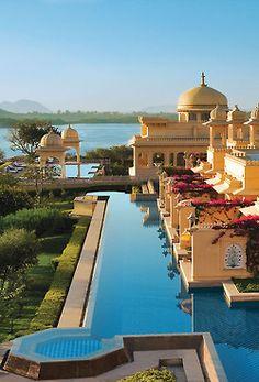 Oberoi luxury hotel, India #travelinstyle #romanticholiday www.goachi.com