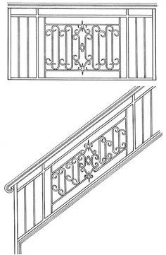Stair Railing Designs ISR207