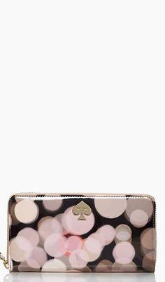 'All that Glitters' wallet #katespade