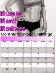 Diary of a Fit Mommy: Muscle Madness March Workout Challenge