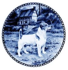 Jack Russell Terrier / Lekven Design Dog Plate 19.5 cm /7.61 inches Made in Denmark NEW with certificate of origin PLATE -7326 *** To view further for this item, visit the image link. (This is an affiliate link and I receive a commission for the sales)