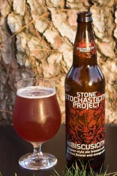 Beer Review: Stone Hibiscusicity Another release from The Stone Stochasticity Project.