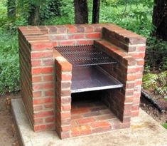 Cool diy backyard brick barbecue ideas diy brick barbeque brazilian bbq pit and 36 pompeii bo brick bbq grill in stainless steel build your own Backyard Projects, Outdoor Projects, Backyard Ideas, Brick Projects, Diy Projects, Outdoor Crafts, Outdoor Stuff, Fence Ideas, Pergola Ideas
