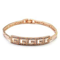 Luxurious Genuine Austria Crystal Bracelet For Wedding