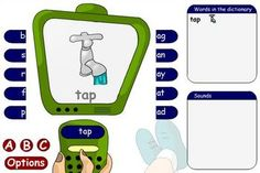 TES i board activies.  Bunches of free interactive literacy (and math) activities.  From the UK.
