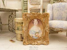 Échelle 1:12 Bleu Femmes Chapeau avec perles de maison de poupées miniature Clothing Accessory