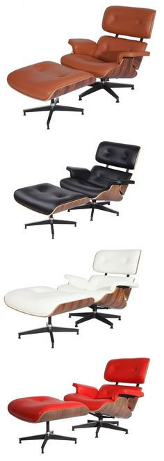 Eames Lounge Chair & Ottoman Replica, High Quality at Perfect Price from $799 at USMLF.COM ! Eames lounge chair is one of the most famous mid-century modern pieces, was designed by Charles and Ray Eames. You deserve to have!