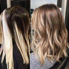 Melty blonde ✨✨ (at Stella Luca Salons - Winter Park's Balayage & Hair Extensions Salon) Ombre Hair, Blonde Hair, Blonde Fall Hair Color, Winter Blonde, Baliage Hair, Balyage Short Hair, Baylage, Underlights Hair, Hair Color And Cut