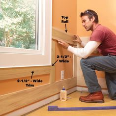 Elegant, traditional wainscoting looks like an intimidating project, but with this simple, easy-to-assemble design even a moderately skilled DIYer can trans