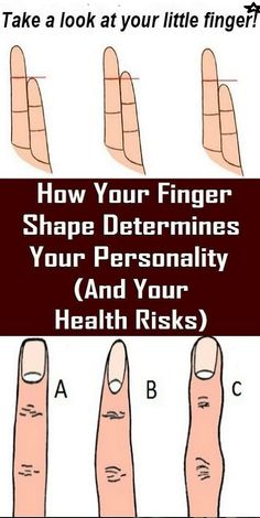 How Your Finger Shape Determines Your Personality (And Your Health Risks) - Women Healthy Life You Are Strong, The Way You Are, Ayurveda, Health And Beauty Tips, Health Tips, Fitness Tips, Health Fitness, Wellness Fitness, Wellness Tips