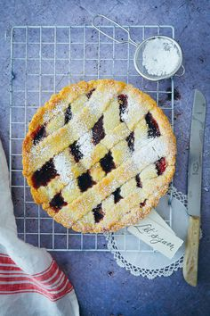 Crostata Marmeladen Tarte Rezept | Zucker, Zimt und Liebe Gourmet Recipes, Baking Recipes, Sweet Recipes, Mint Chocolate, Chocolate Recipes, Jam Tarts, Cake & Co, Ober Und Unterhitze, Loaf Cake