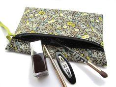 Tutoriel de la trousse zippée Camille, trousse couture ou maquillage pour débutante - Patrons de couture chez Makerist