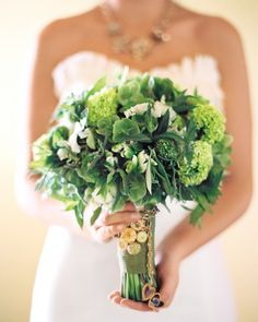 """See the """"The Bouquet"""" in our An Outdoor Vintage, Rustic-Inspired Green Wedding at a Vineyard in California gallery"""