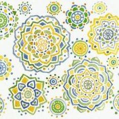watercolor mandalas