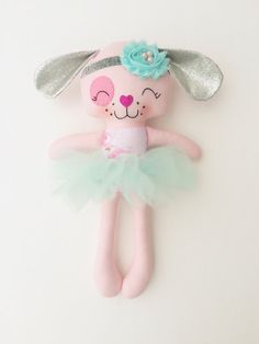 Items similar to Unicorn doll - fabric doll - handmade doll - rag doll - girls room decor - girls toy - baby gift - cloth doll - unicorn - plush - nursery on Etsy Little Pet Shop, Little Pets, Sewing Toys, Sewing Crafts, Sewing Projects, Unicorn Doll, Dress Up Dolls, Needle Felted Animals, Felt Animals