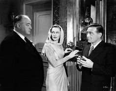 Three Strangers (1946) with Sydney Greenstreet, Peter Lorre and Geraldine FitzgeraldWarner Archive : Photo Hollywood Actor, Hollywood Stars, Hollywood Actresses, Classic Hollywood, British American, American Actors, Geraldine Fitzgerald, The Sweetest Thing Movie, Bogart And Bacall