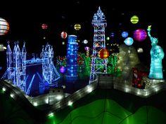 illuminasia Blackpool, indoor illuminations attraction at Winter Gardens Blackpool