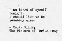 To Read: The Picture of Dorian Gray, Oscar Wilde