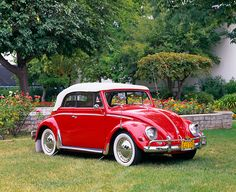 Nice Red VW Convertible