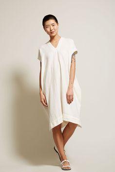 Atelier Delphine Crescent Dress in White