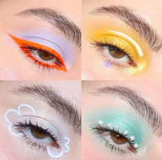 Here's a little compilation of the looks I've done inspired by Euphoria. Makeup Eye Looks, Eye Makeup Art, Crazy Makeup, Cute Makeup, Pretty Makeup, Skin Makeup, Makeup Inspo, Eyeshadow Makeup, Makeup Inspiration