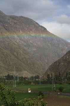 Regreso a la ciudad, Arcoiris - 2011, Cusco, Perú