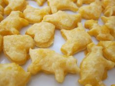 Cooking With Toddlers: Cheese Crackers. Only 5 ingredients, quick, and kids can cut out crackers with cookie cutters.