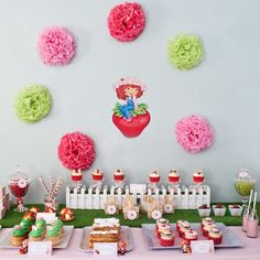 Strawberry Shortcake Party Ideas | Pretty My Party