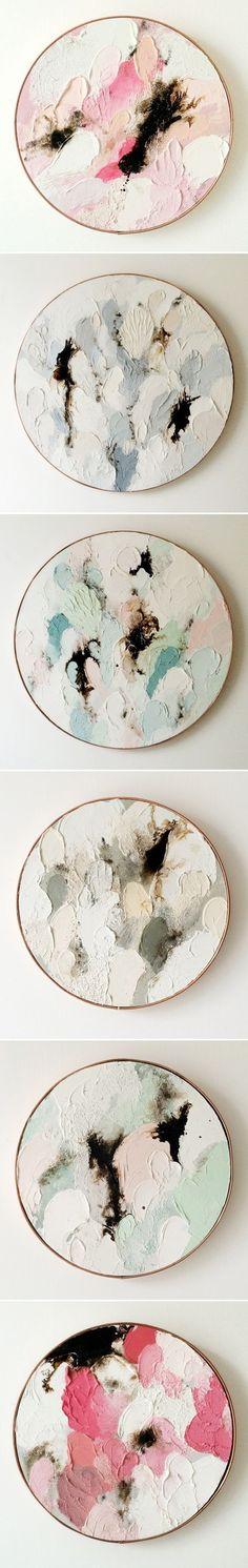 Oil paintings on wood by Australian artist Lisa Madigan (The Jealous Curator)