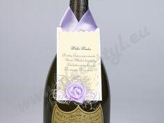 Zawieszka na wódkę - kolor fioletowy